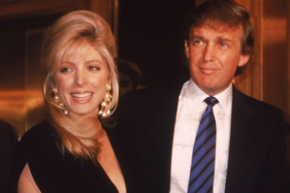 Donald Trump Marla Maples