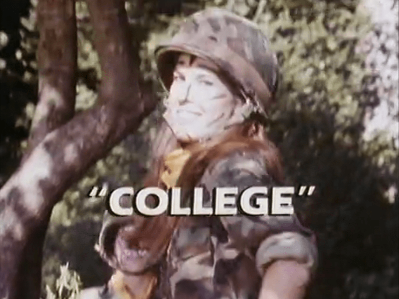 Telefilm anni 90 College