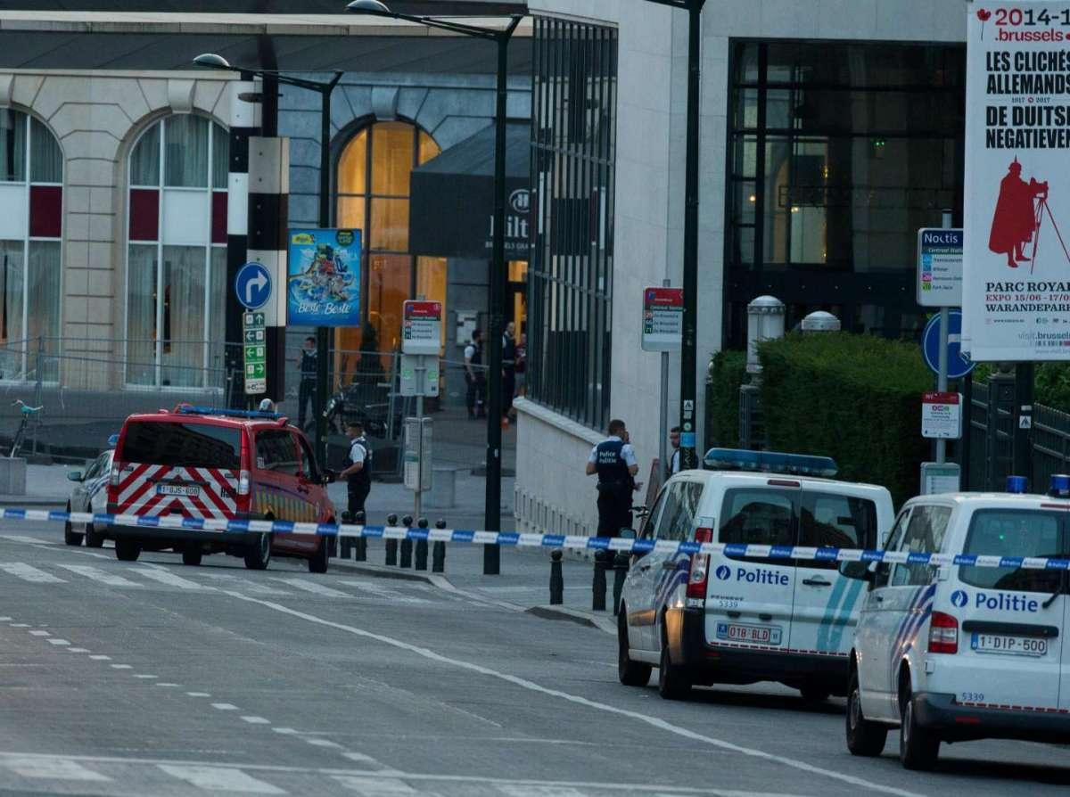 Bruxelles, esplosione alla stazione centrale