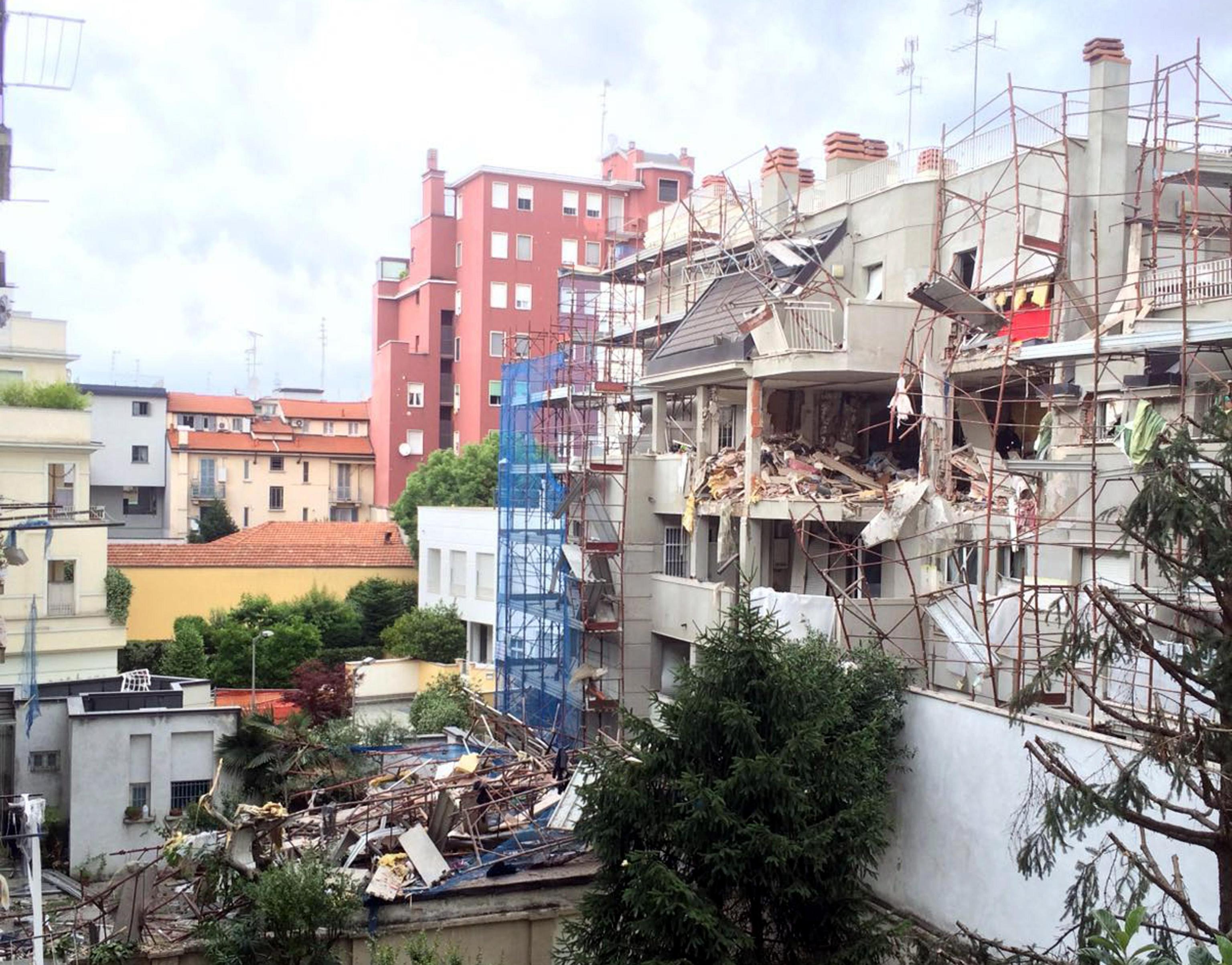Palazzo esploso a Milano: ergastolo per Giuseppe Pellicanò