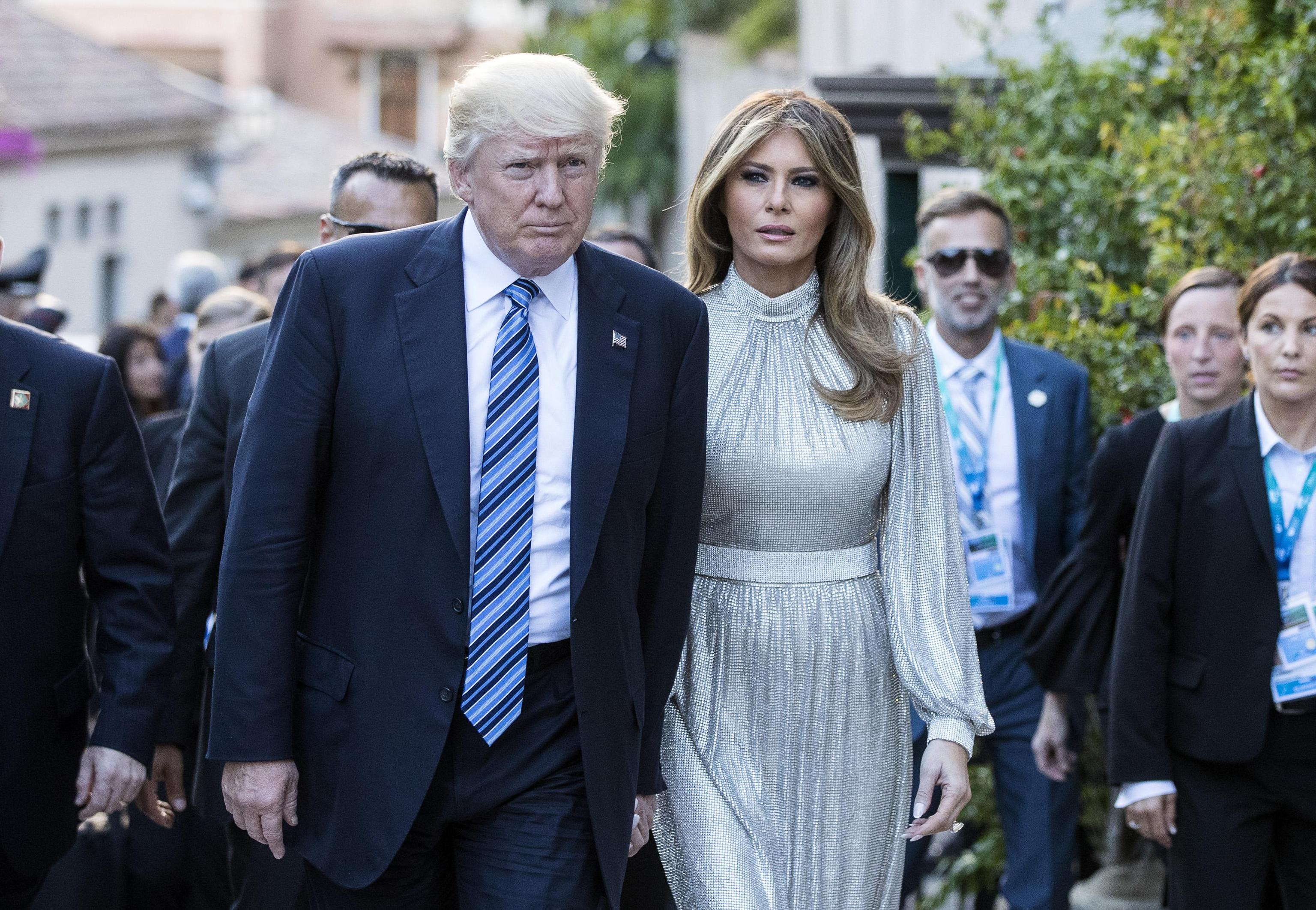 Il compleanno di Donald Trump e la festa organizzata da Melania