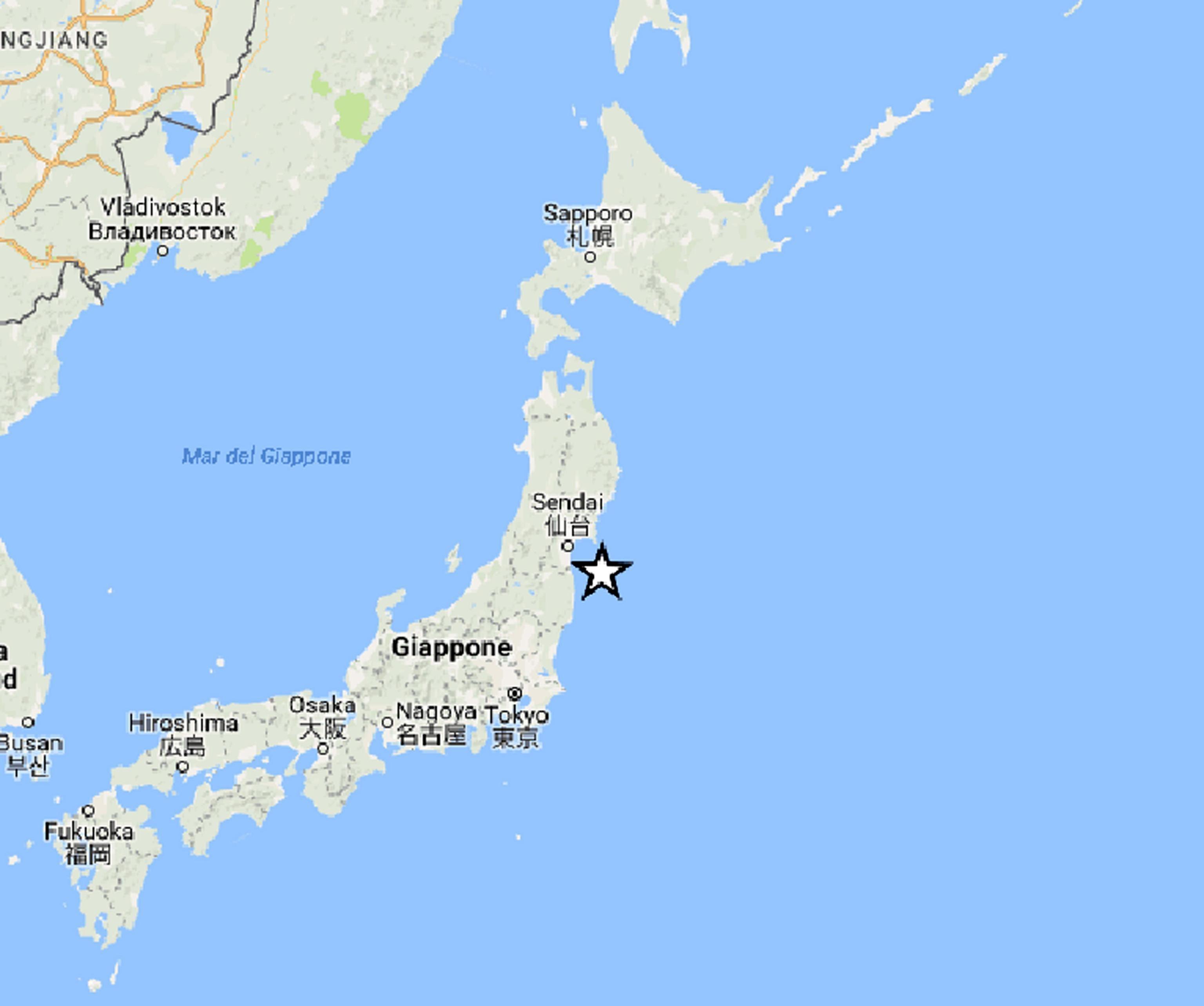 Giappone: scossa di terremoto 6.1 al largo di Fukushima, esclusa allerta tsunami
