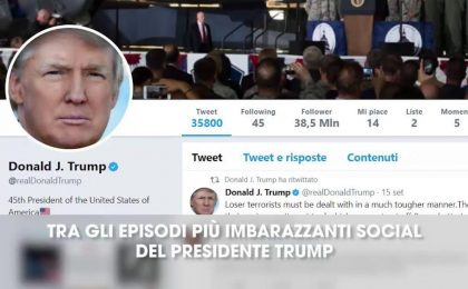 I post più clamorosi su Twitter di Donald Trump