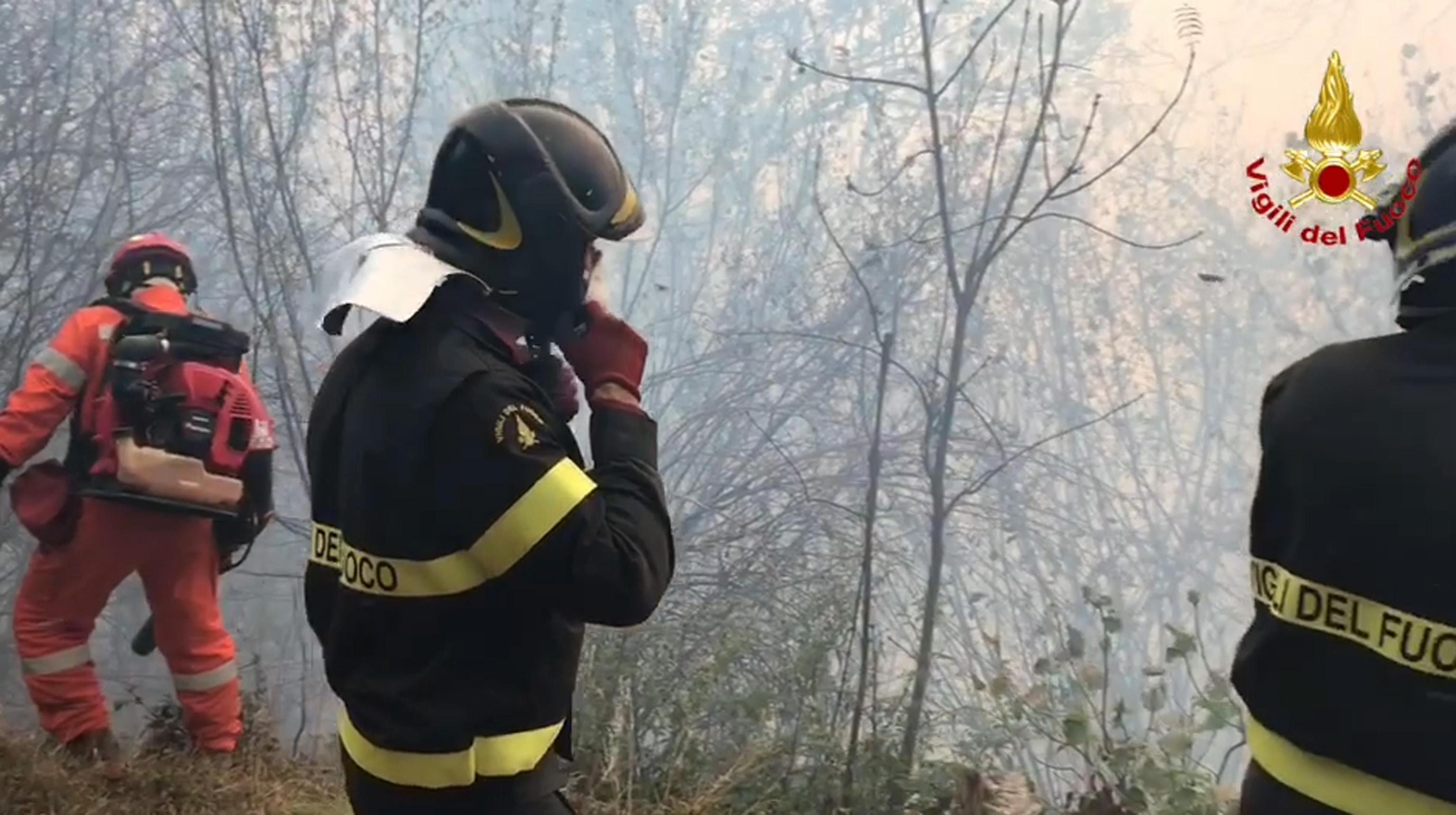 Incendi: a rischio osservatorio astronomico Campo dei Fiori