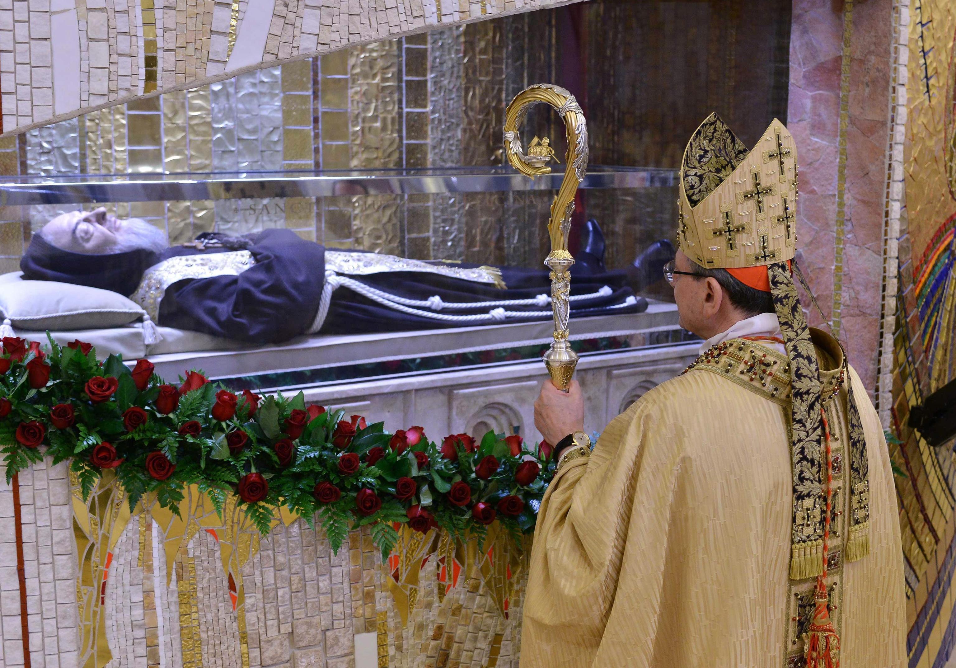 Padre Pio 'trasloca': dal 26 novembre la reliquia del corpo sarà a Santa Maria delle Grazie