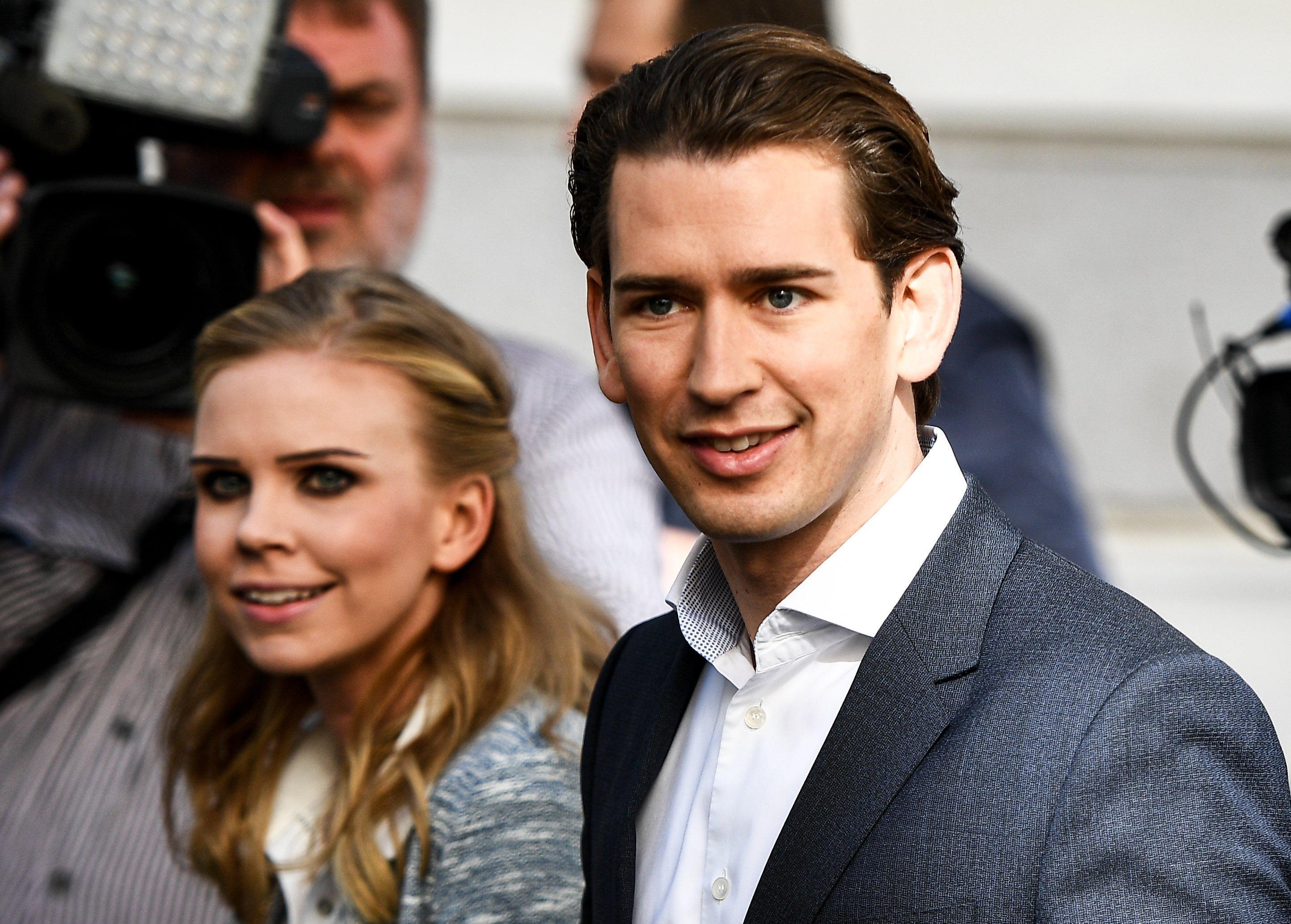 Sebastian Kurz e Susanne Thier