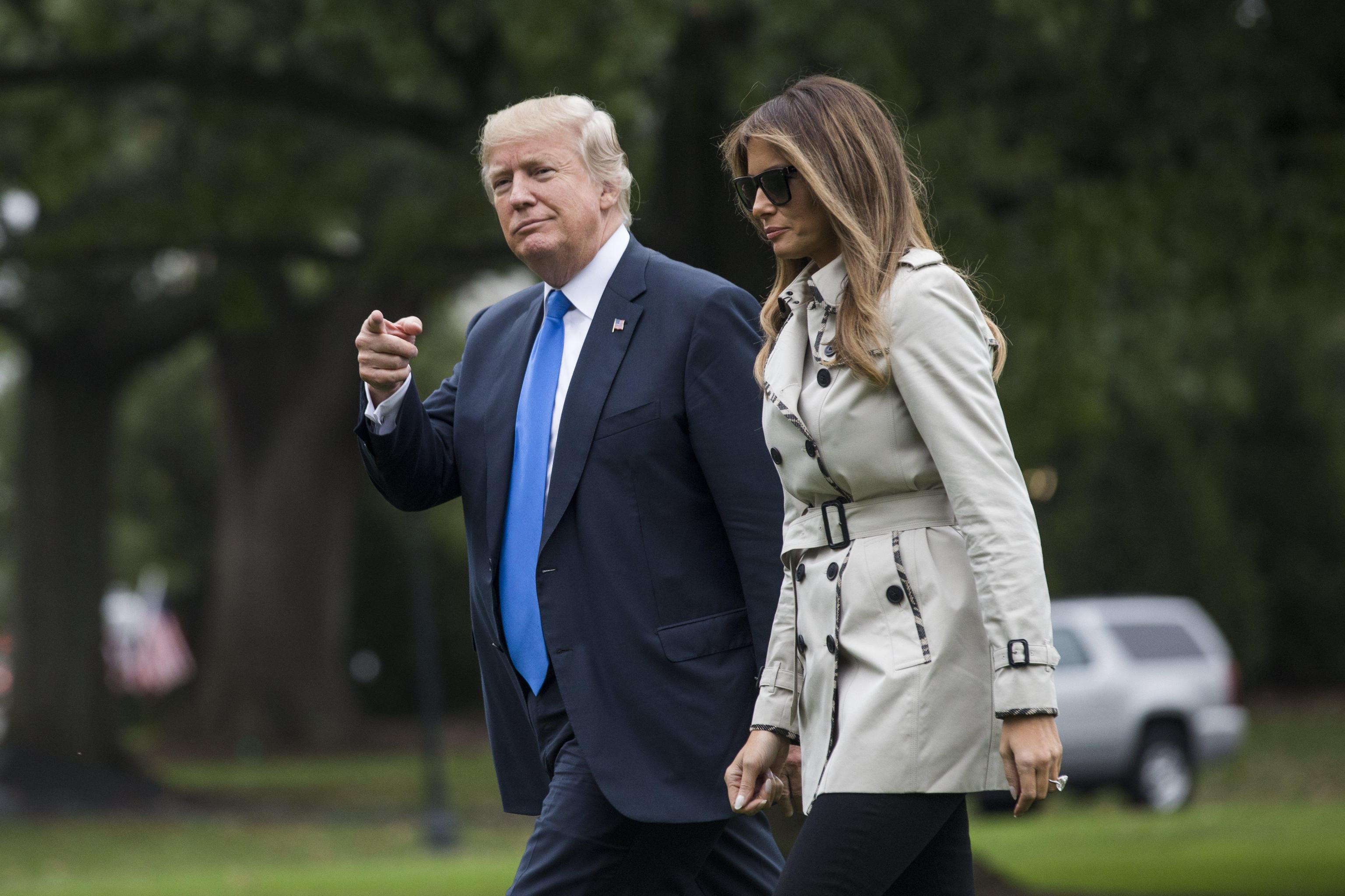 Melania Trump: una controfigura al posto della First lady? La nuova teoria che alimenta il dubbio