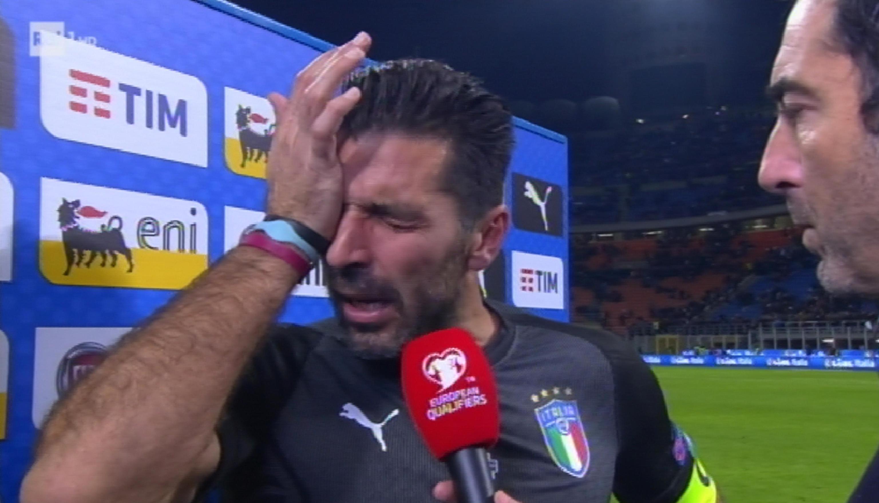 Italia fuori dai Mondiali: gli azzurri non si qualificano per Russia 2018