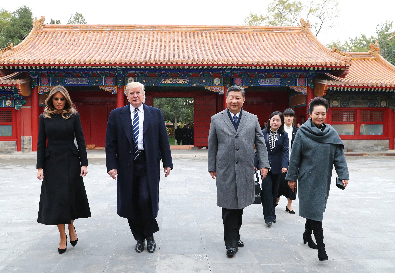 US President Donald J. Trump in Beijing