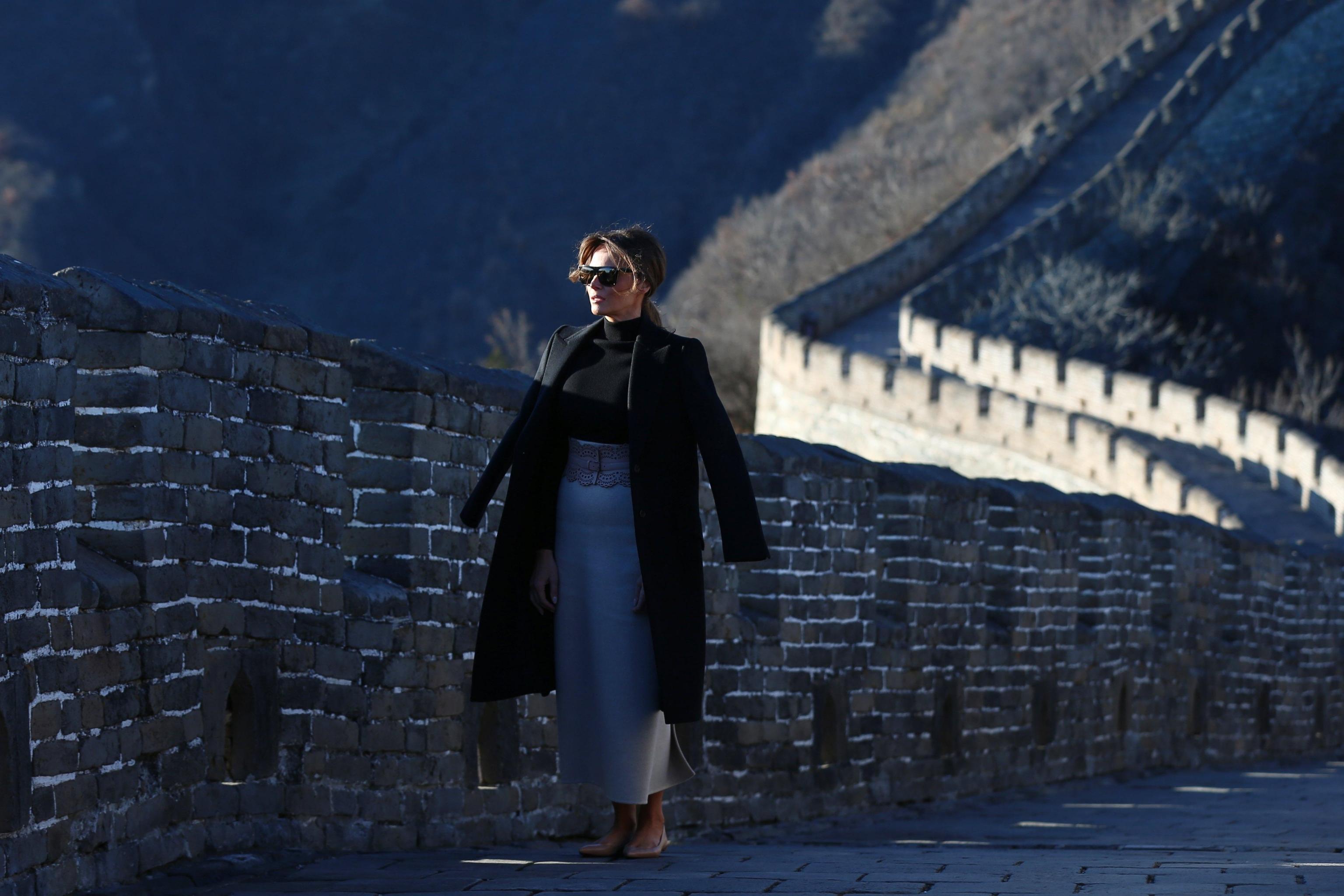 Melania Trump in visita in Cina: i look della First lady