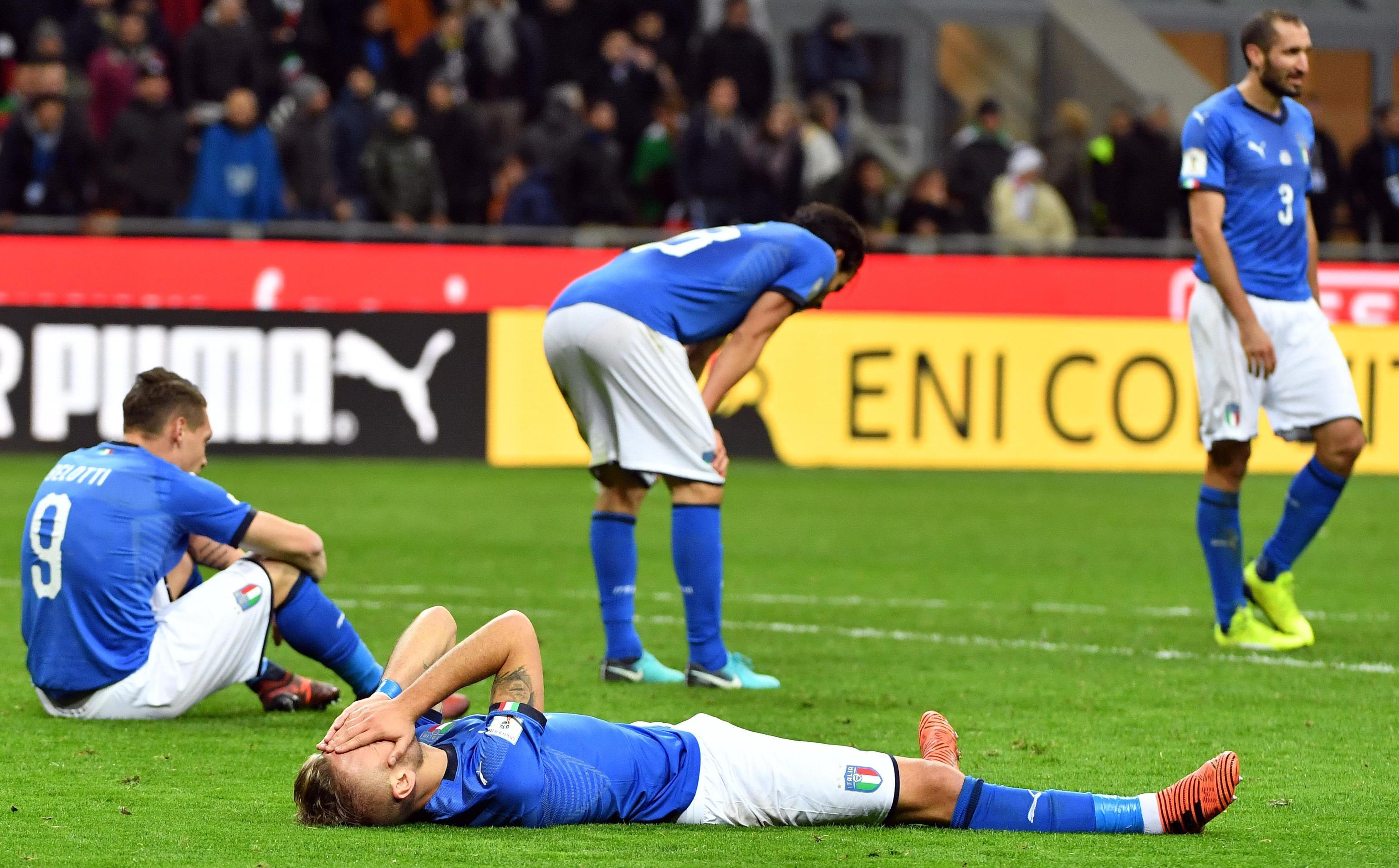 Mondiali: da Irlanda Nord a Svezia,i disastri azzurri