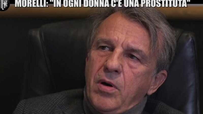 """Le Iene, lo psichiatra Morelli e l'intervista shock: """"In ogni donna c'è una prostituta"""""""