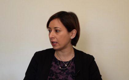 Nadia, affetta da sindrome di down, dipendente di Panini Durini