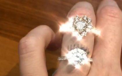 Chiara Ferragni, per Natale Fedez le regala un gigantesco anello di diamanti a cuore