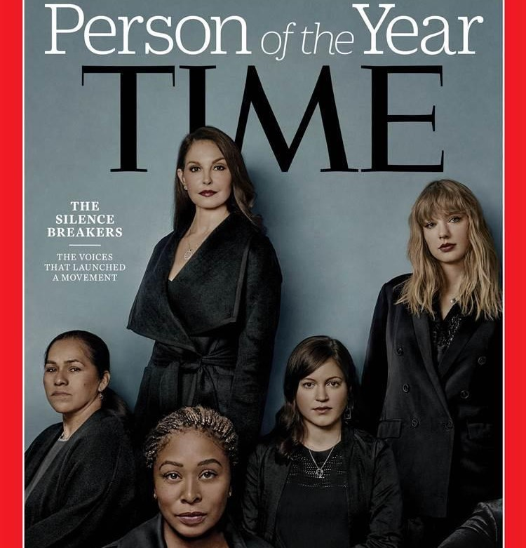 Il movimento #MeToo è la persona anno di Time 2017