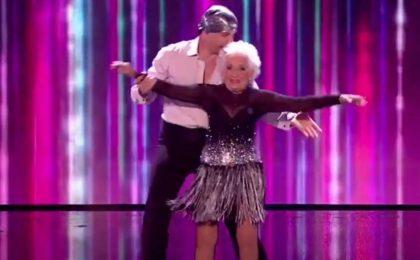 Sanremo 2018: Paddy, la nonna ballerina che ha conquistato il pubblico del Festival