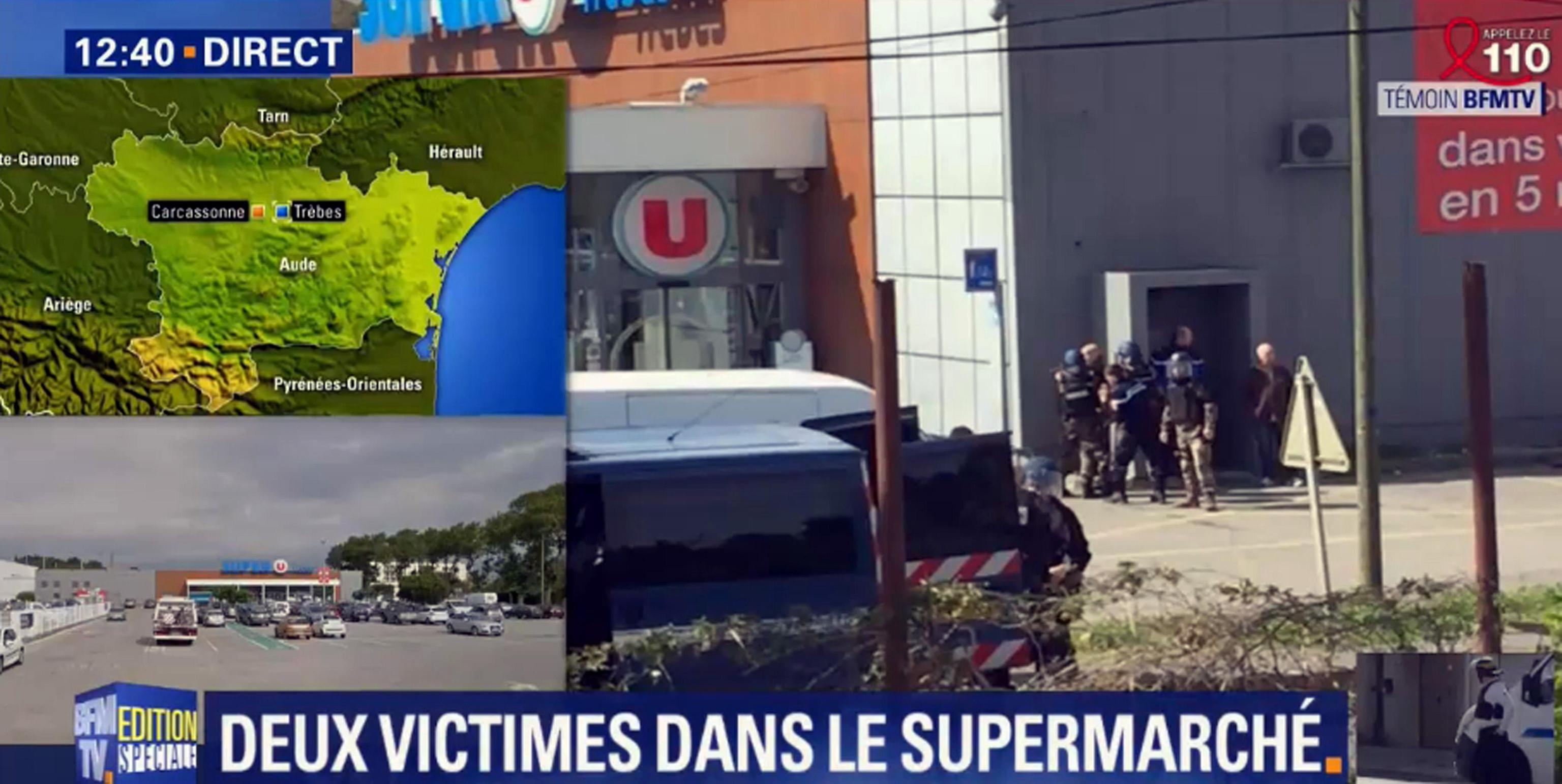 Francia, sparatoria in un supermercato al grido di 'Allah Akbar'
