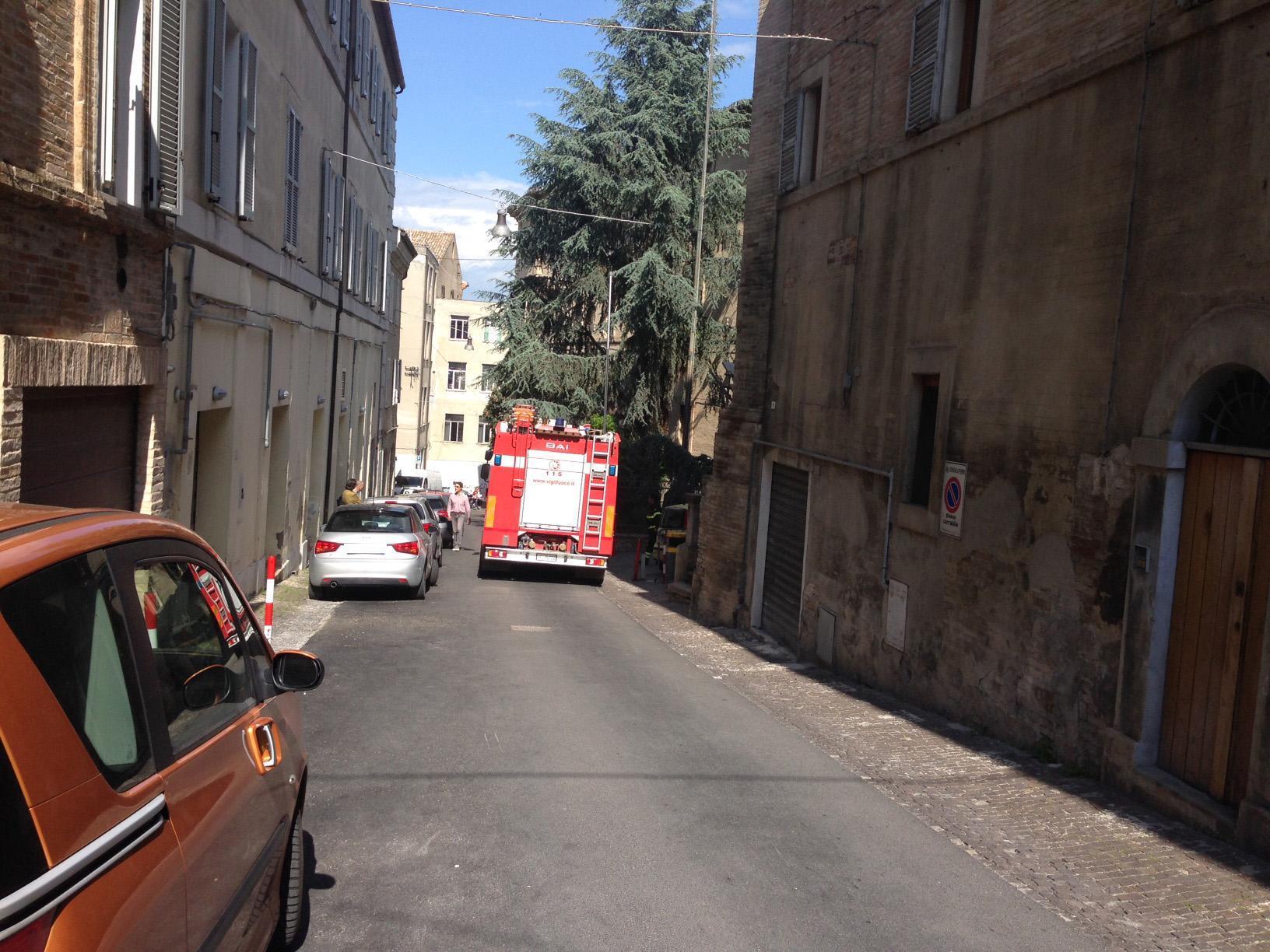 Crolla il tetto di una scuola di Fermo: tragedia sfiorata