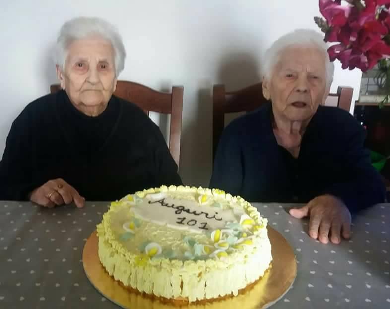 Vittoria e Rosa, le gemelle sarde da record: hanno spento 101 candeline