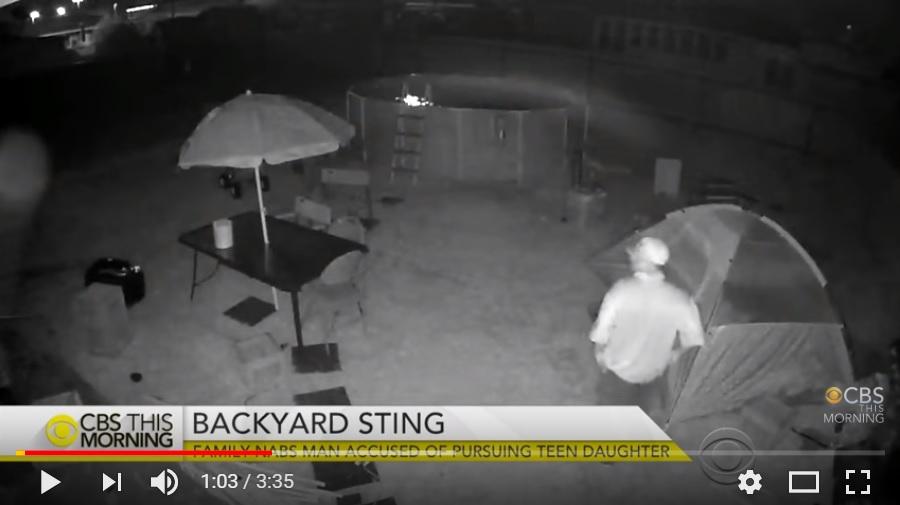 Padre di una 15enne organizza una trappola per incastrare il molestatore di sua figlia