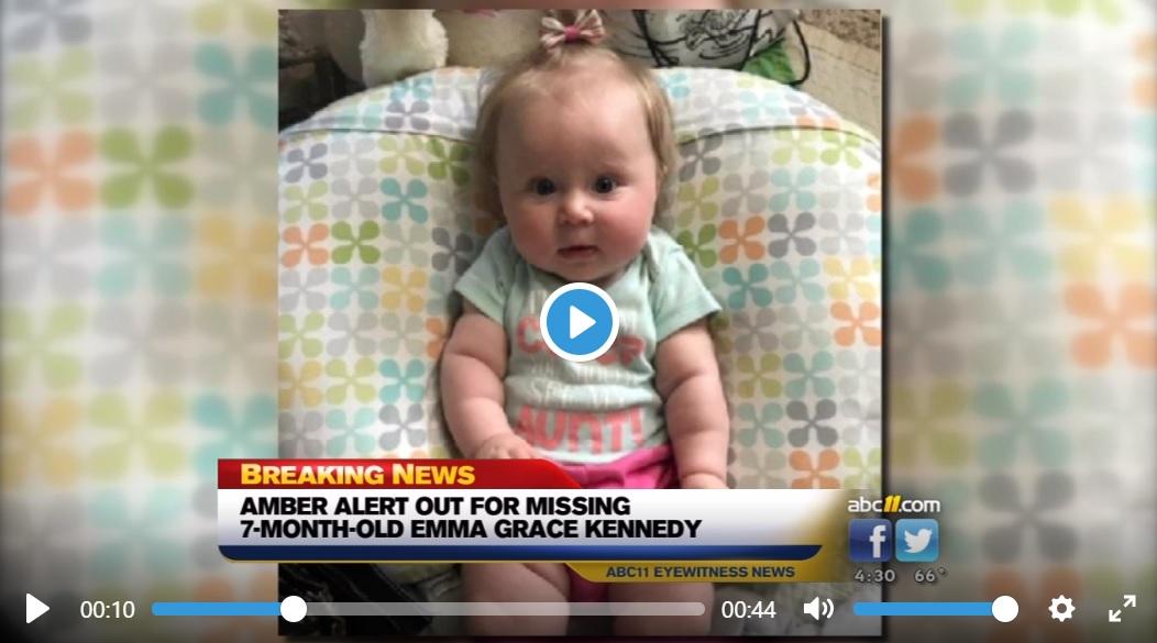Bambina di 7 mesi rapita da uno stupratore armato: è allarme nazionale negli USA