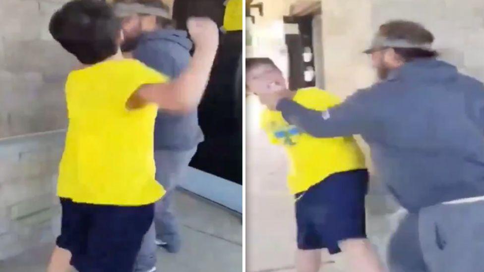 Il video di un uomo che butta a terra un ragazzino aggressivo: chi dei due ha ragione?