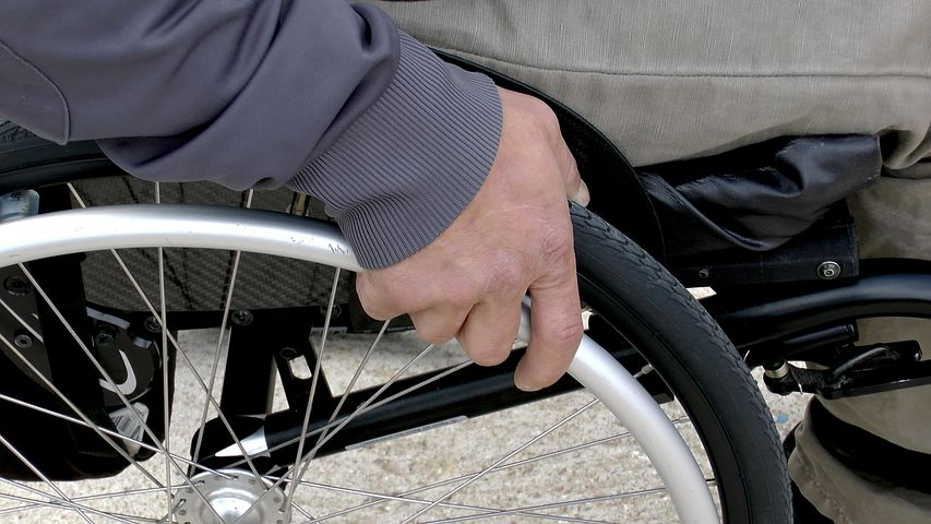 disabile auto rubata
