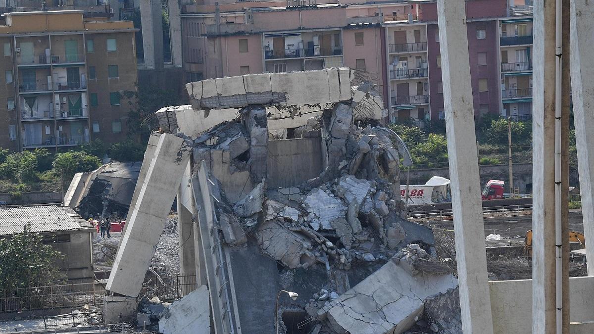Genova: dopo il crollo del ponte Morandi una bambina ha perso la parola per lo shock