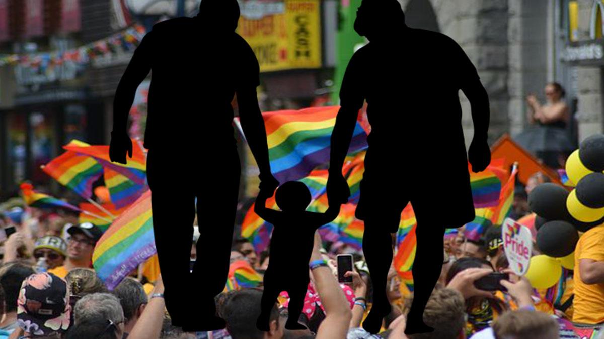 Coppie gay con figli, campagna shock: 'Due uomini non fanno una madre'