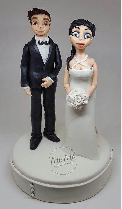 #DEVA_ALT_TEXT#Gadget personalizzati - Cake topper sposi