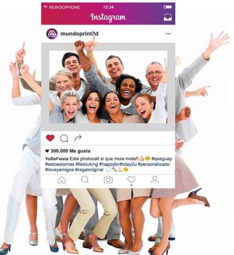 #DEVA_ALT_TEXT#Cornice personalizzabile instagram