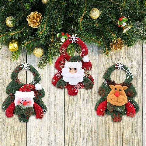 Decorazioni albero di Natale in feltro