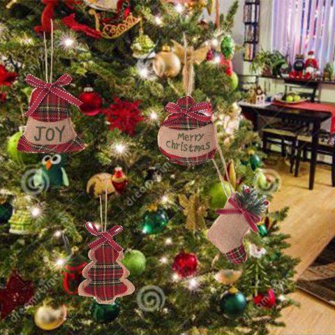 Decorazioni albero di Natale in lana