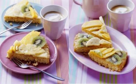 crostata morbida frutta fresca