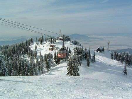 Inverno: sciare in Romania