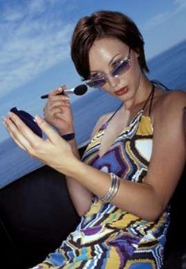make up da spiaggia