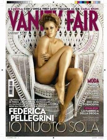 federica pellegrini vanity fair