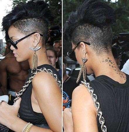 Rihanna cresta
