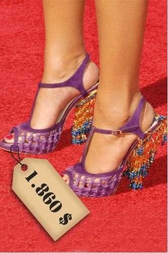 Le scarpe più costose delle star