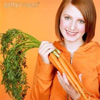 Maschera viso alla carota per prolungare l'abbronzatura