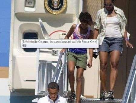 Michelle Obama, la prima first lady in shorts