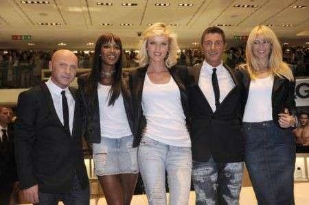 D&G Profumi: Claudia, Eva, Naomi e gli stilisti alla Rinascente