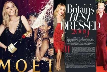 Best dressed woman list 2009 Harpers Bazaar