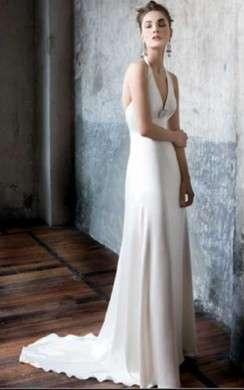 Katrin Bride fashion abito in seta