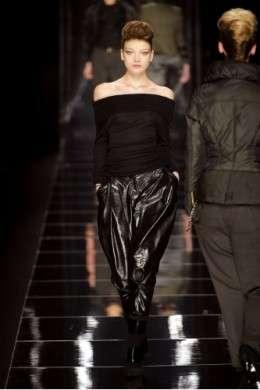 Pantaloni inverno 2010: modelli larghi