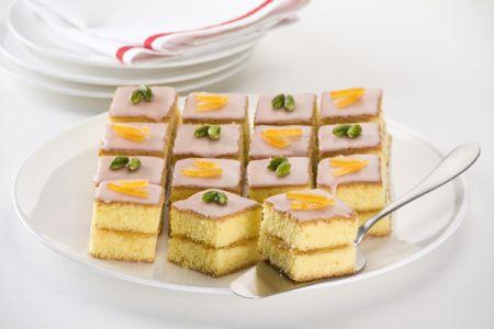Ricette di Capodanno: dolcetti glassati all'arancia