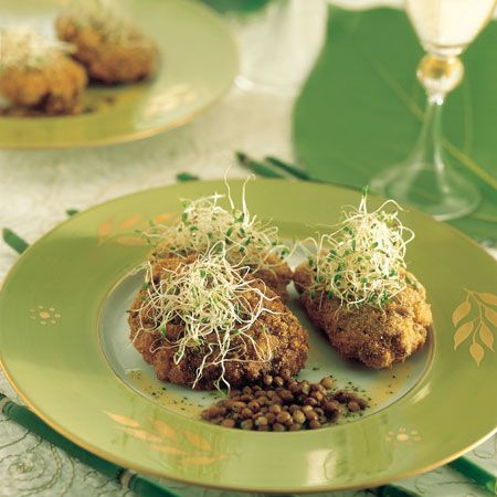 Ricette di Capodanno: frittelle di riso e lenticchie