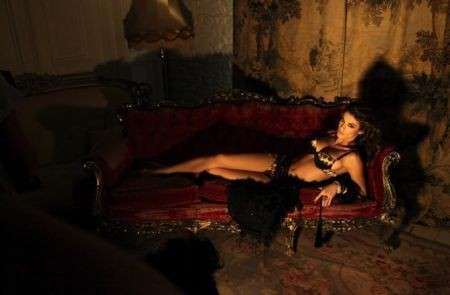 Elisabetta Canalis, bellissima per Roberto Cavalli Underwear