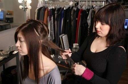 lisciare i capelli