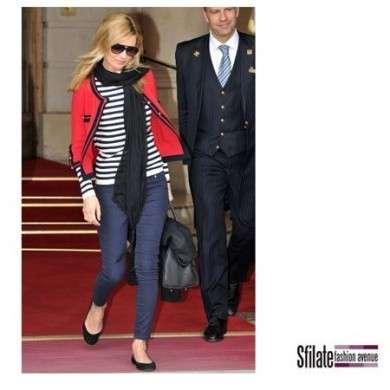 Kate Moss adora le scarpe PrettyBallerinas